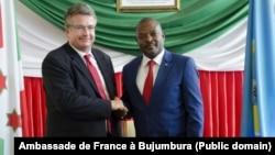 Uwuserukira Ubufaransa mu Burundi kumwe na Prezida Pierre Nkurunziza