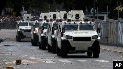 Las protestas antigubernamentales han sido fuertemente reprimidas por la policía y la Guardia Nacional.