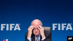Sepp Blatter, le 20 mars 2015 à Zurich. (AP Photo/Keystone,Ennio Leanza)