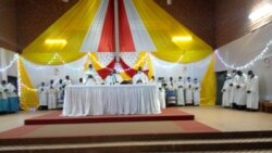 Bobo-Dioulasso: noël celi be ka gnanamaya Gueleyaw kan, Paul Ouedraogo messe de Noë ke Coronavirus bana kouna foni ye