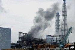 Centrale de Fukushima Daiichi, au Japon (mars 2011)