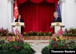 U.S. Vice President visits Singapore, Aug. 23, 2021.