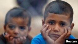 敘利亞庫爾德難民兒童