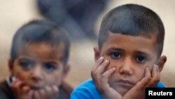 叙利亚库尔德难民儿童