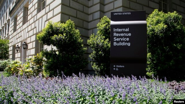 A general view of the Internal Revenue Service (IRS) Building in Washington, May 14, 2013.