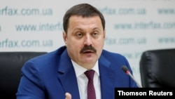 우크라이나의 안드리 데르카치 의원.