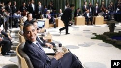 جمهور رئیس اوباما د اپیک په غونډې کې