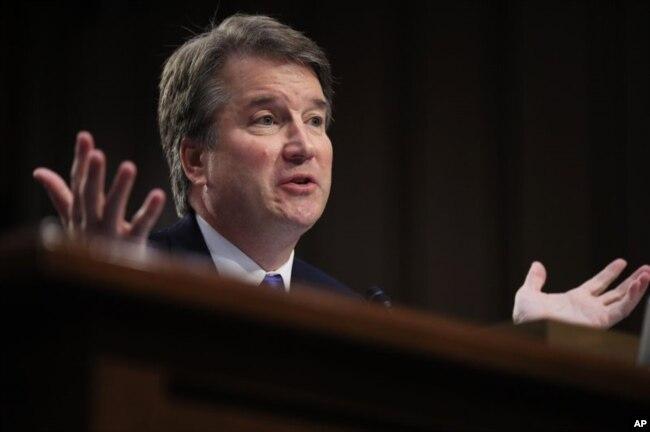 El juez Brett Kavanaugh ha sido nominado por el presidente Donald Trump para la Corte Suprema de EE.UU.