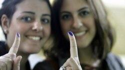 نخستین دور انتخابات پارلمانی مصر به پایان می رسد