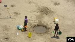 Falta de água é grave no interior da província