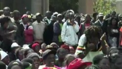 Zanu PF Supporters Attending Rally in Harare