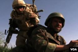 国际军事顾问帮助训练阿富汗军队