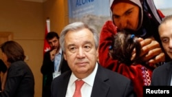 លោក Antonio Guterres អគ្គស្នងការអ.ស.ប.ទទួលបន្ទុកជនភៀសខ្លួន