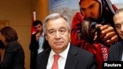 联合国难民事务高级专员安东尼奥•古特雷斯 (资料照)