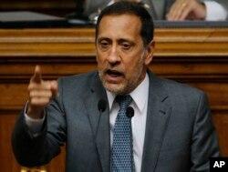 Diputado venezolano José Guerra, Presidente de la Comisión Permanente de Finanzas y Desarrollo Económico de la Asamblea Nacional (AN).