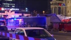 Berlin'de TIR Noel Pazarına Girdi, 9 Kişi Öldü