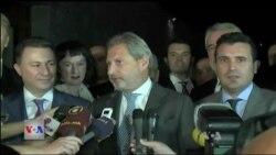 Maqedoni, takim i forcave politike