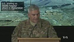 Pentagon: 'We Failed to Meet Own Expectations' in Kunduz Strike