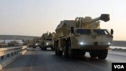 აზერბაიჯანის არმიის მოდერნიზებული DANA M1M-ის ბატარეა
