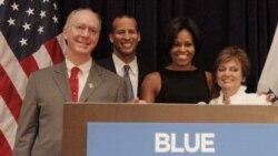 گزارش: پرزيدنت و ميشل اوباما برای مبارزات انتخاباتی کنگره به ايالات مختلف سفر می کنند