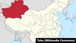 Çinin Sincan Uyğur muxtar bölgəsi