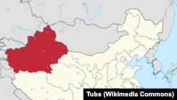 Çinin Sincan bölgəsi