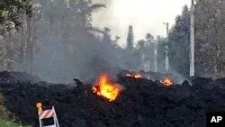 Zatrpan put zbog erupcije vulkana