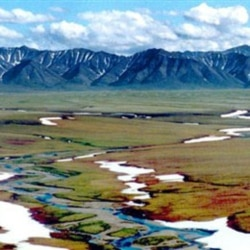 Part of the Arctic National Wildlife Refuge in Alaska