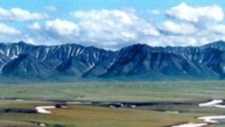 Part of the Arctic National Wildlife Refuge in Alaska.
