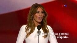Melania Trump e Michelle Obama, a controvérsia do plágio