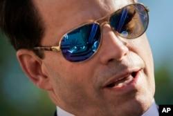 白宮通訊聯絡主任安東尼斯卡拉穆奇辭職。