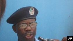 Superintendente Lindo Ngola, porta voz da polícia em Malanje