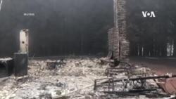 美國西部地區山火繼續肆虐