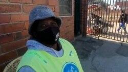 Othengisa Impahla koBulawayo Uxoxa Ngomkhuhlane weCOVID-19