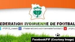 Le logo de la Fédération ivoirienne de football, 16 Janvier 2017. (Facebook/Fif)