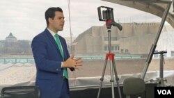 Novinar Glasa Amerike Jorge Agobian izvještava za publiku iz Latinske Amerike.