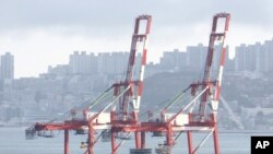 Scene at Busan, South Korea's biggest and the world's No. 5 container port (file photo)
