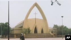 La Cathédrale Notre Dame de la Paix à N'Djaména