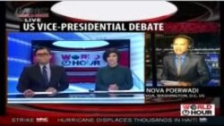 Laporan Langsung VOA untuk MNC World News: Pasca Debat Cawapres AS