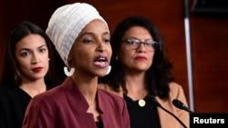 صومالی نژاد امریکی خاتون رکن الہان عمر