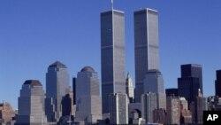 Vista aérea del World Trade Center tomada en la década de 1980. Los dueños del World Trade Center habían firmado un contrato para alquilar el complejo por 99 años, meses antes de los atentados del 11 septiembre.