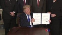 2018-03-27 美國之音視頻新聞:對美中貿易戰擔憂減弱 美國股市大幅回漲