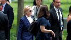 Clinton က်န္းမာေရးအေျခအေန ေကာင္းမြန္လာၿပီ