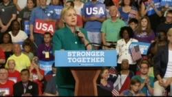 Clinton Says Trump's Comments 'Cross the Line'