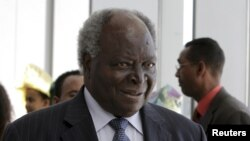 Kenya's President Mwai Kibaki (file photo)