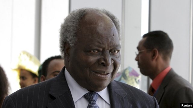 Kenya's President Mwai Kibaki (file photo)