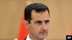 叙利亚总统阿萨德周一在大马士革发表演讲