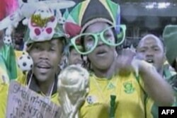 举世一片足球热 南非球迷最当先