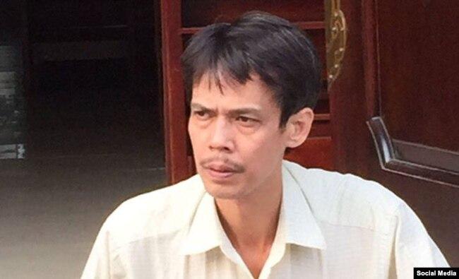 Nhà báo độc lập - blogger Phạm Chí Dũng.