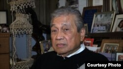 Claudio Pedery joined the U.S. Navy 50 years ago as a young man in the Philippines, setting on a course to citizenship.